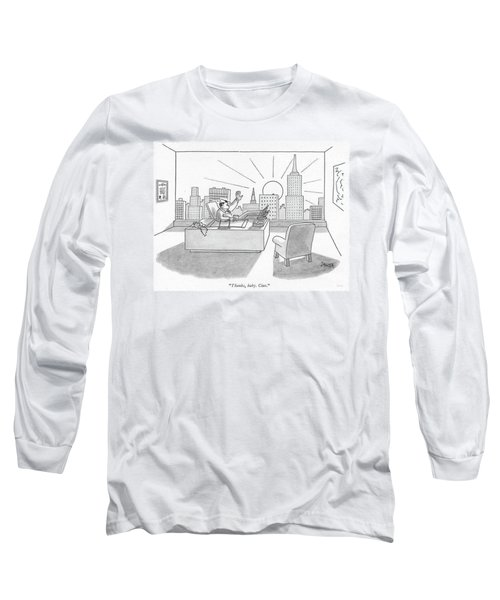 Thanks, Baby. Ciao Long Sleeve T-Shirt
