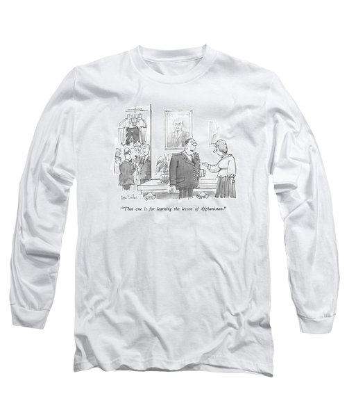That One Is For Learning The Lesson Long Sleeve T-Shirt
