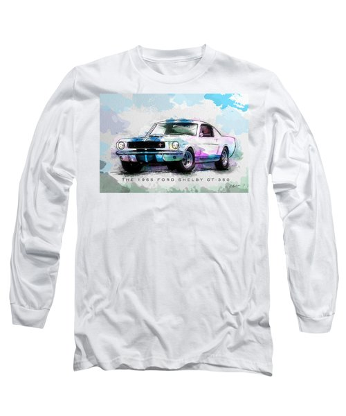 The 1965 Ford Shelby Gt 350  Long Sleeve T-Shirt