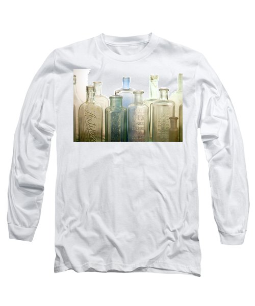 Long Sleeve T-Shirt featuring the photograph The Ages Reflected In Glass by Holly Kempe