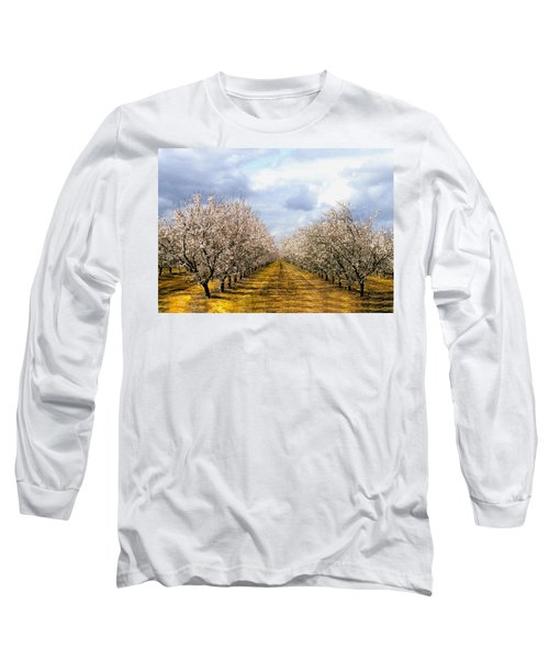 The Almond Orchard Long Sleeve T-Shirt