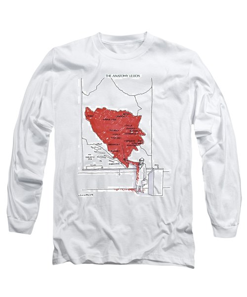 The Anatomy Lesson Long Sleeve T-Shirt