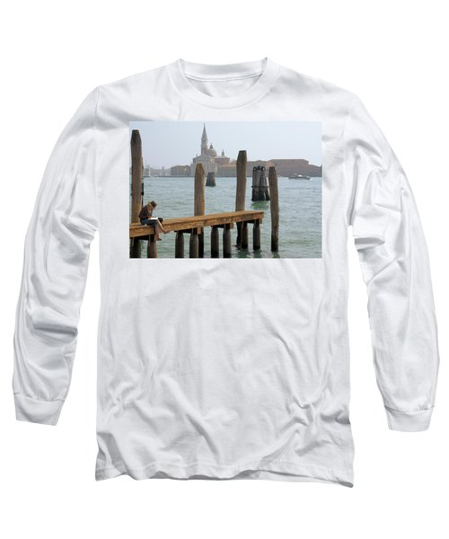 Long Sleeve T-Shirt featuring the digital art The Artist by Ron Harpham