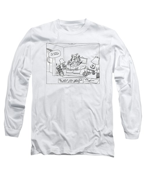 The Artist Wakes Refreshed Long Sleeve T-Shirt