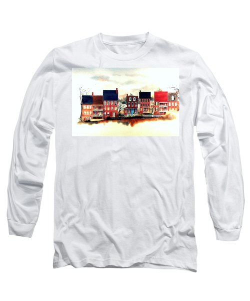 The Back Of The Strand Long Sleeve T-Shirt
