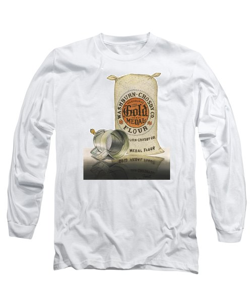 Long Sleeve T-Shirt featuring the painting The Bakers Choice by Ferrel Cordle