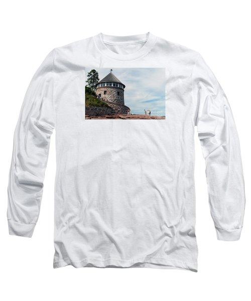 The Bath House On Ministers Island Nb Long Sleeve T-Shirt
