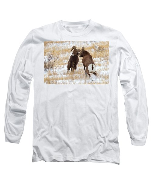 The Battle For Dominance Long Sleeve T-Shirt by Jim Garrison