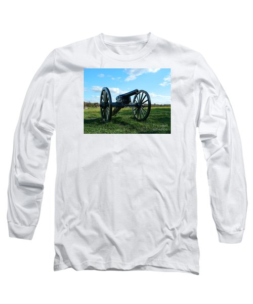 Long Sleeve T-Shirt featuring the photograph The Battle Is Over - Gettysburg by Emmy Marie Vickers
