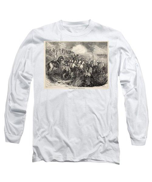 The Battle Of Ferozeshah, Illustration Long Sleeve T-Shirt