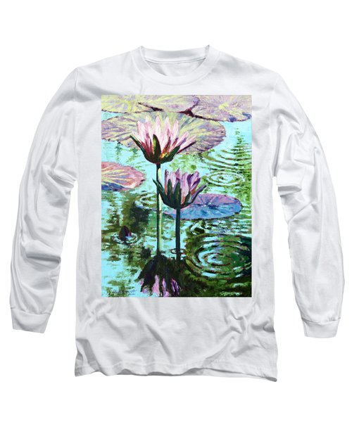 The Beauty Of The Lilies Long Sleeve T-Shirt