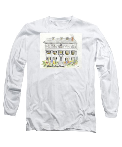 The Beekman Arms In Rhinebeck Long Sleeve T-Shirt by AFineLyne