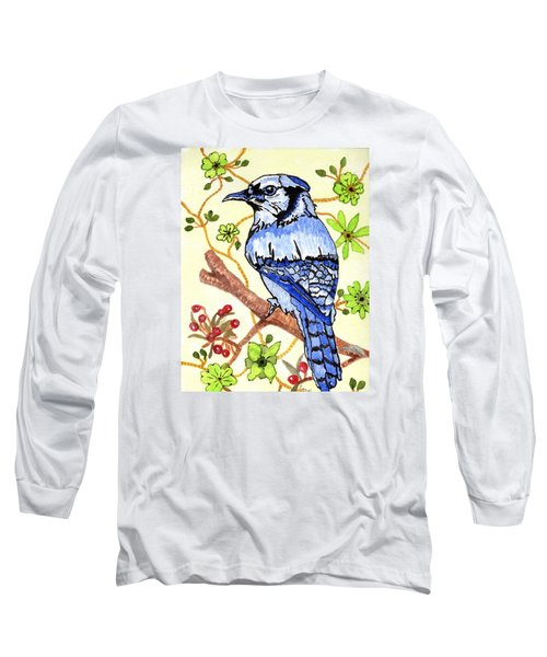 The Bird In My Yard Long Sleeve T-Shirt