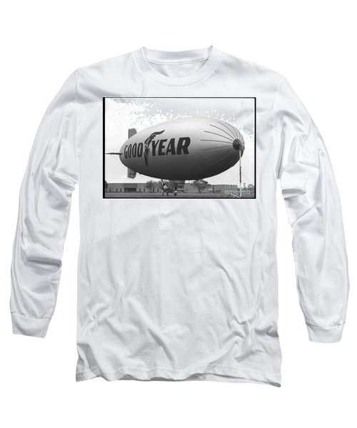 The Goodyear Blimp In 1979 Long Sleeve T-Shirt