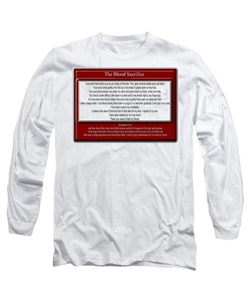 The Blood Sacrifice Long Sleeve T-Shirt