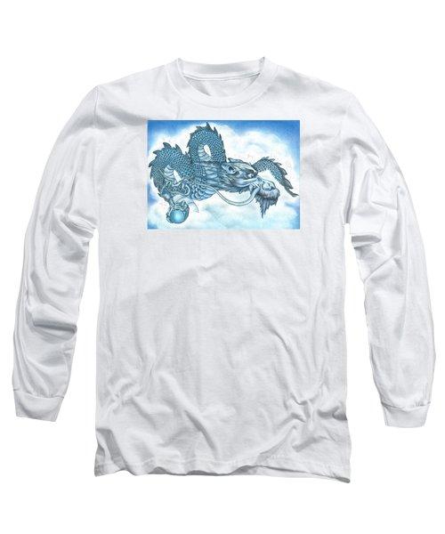 The Blue Dragon Long Sleeve T-Shirt