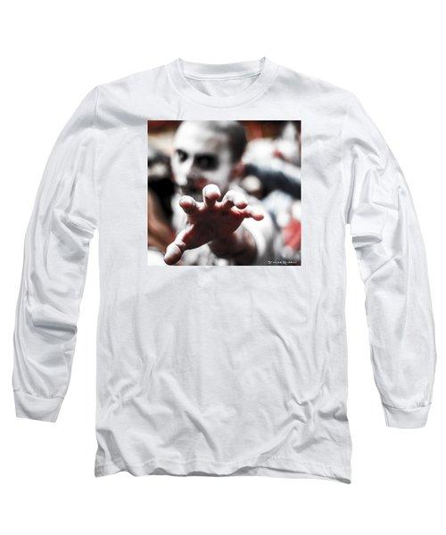 Long Sleeve T-Shirt featuring the photograph The Brain Snatcher by Stwayne Keubrick