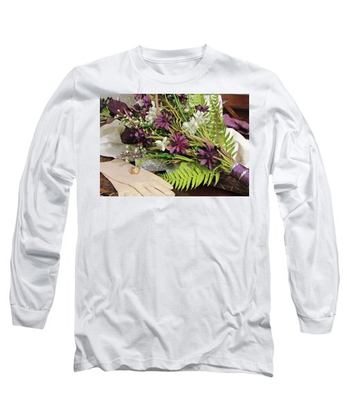 Long Sleeve T-Shirt featuring the photograph The Bride To Be by Cynthia Guinn