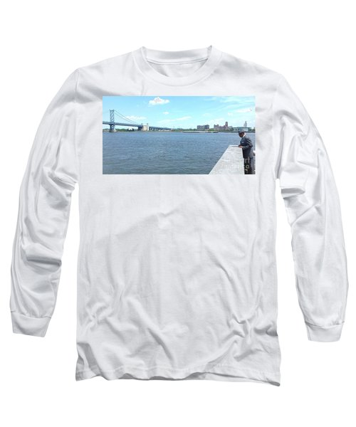 The Bridge And The River Long Sleeve T-Shirt