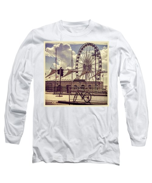 Long Sleeve T-Shirt featuring the photograph The Brighton Wheel by Chris Lord