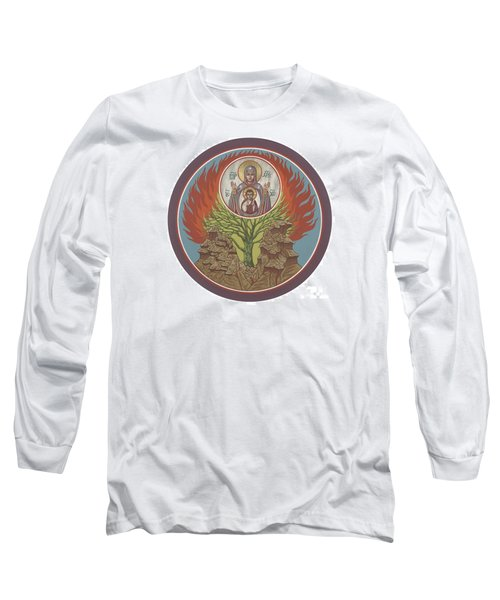 Long Sleeve T-Shirt featuring the painting The Burning Bush 249 by William Hart McNichols