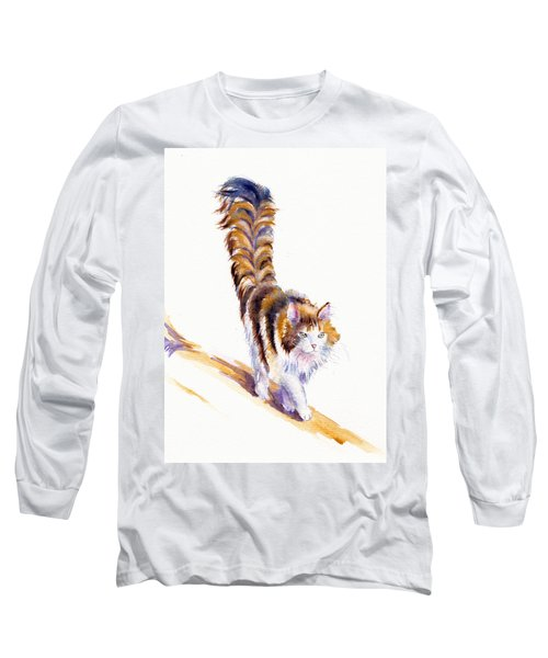 The Calico Cat That Walked By Himself Long Sleeve T-Shirt