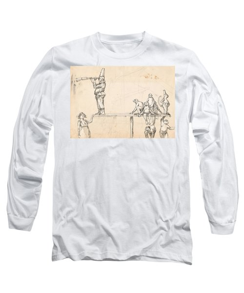 The Captain Long Sleeve T-Shirt by H James Hoff