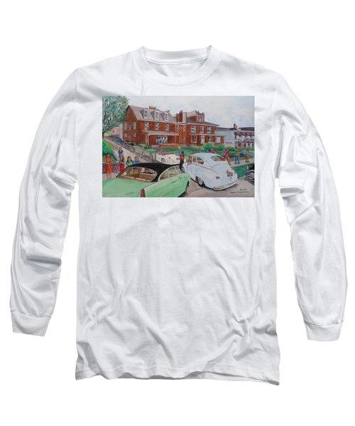 The Car Movers Of Phi Sigma Kappa Osu 43 E. 15th Ave Long Sleeve T-Shirt