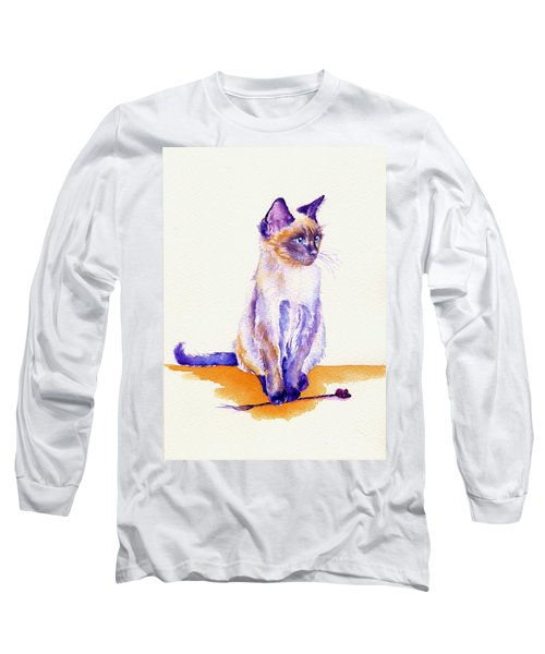 The Catmint Mouse Hunter Long Sleeve T-Shirt