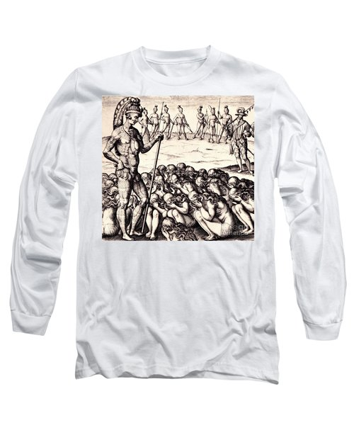 The Chieffe Applyed To By Women Long Sleeve T-Shirt by Peter Gumaer Ogden
