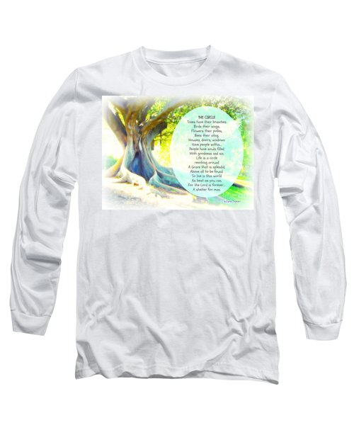 The Circle Long Sleeve T-Shirt by Leanne Seymour