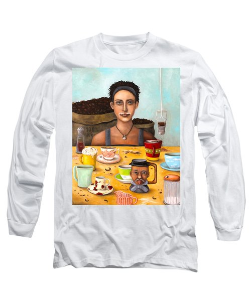 The Coffee Addict Long Sleeve T-Shirt