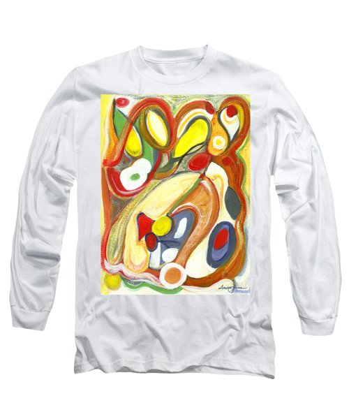 The Color Of Love Long Sleeve T-Shirt by Stephen Lucas