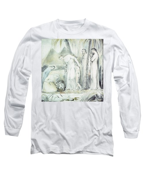 The Compassion Of Pharaohs Daughter Or The Finding Of Moses Long Sleeve T-Shirt