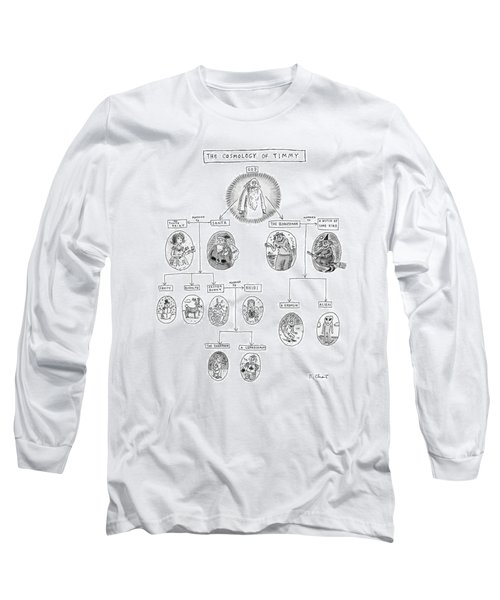 The Cosmology Of Timmy Long Sleeve T-Shirt
