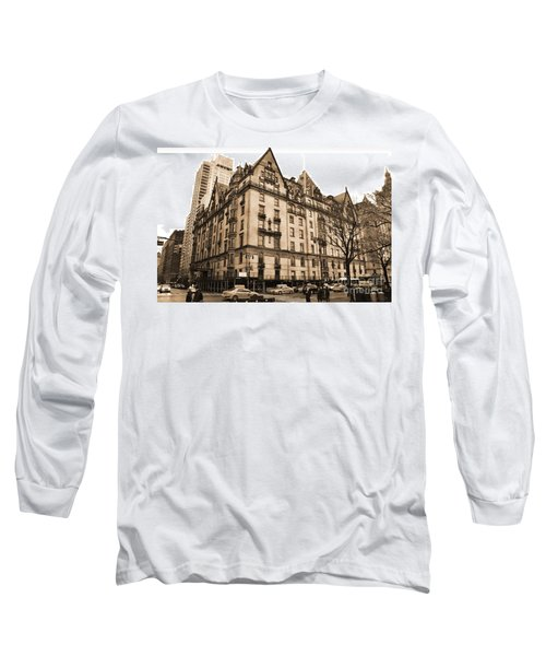 The Dakota Vintage Look Long Sleeve T-Shirt