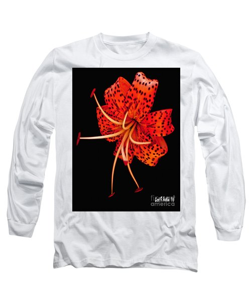 The Dance Of The Tiger Lily  Long Sleeve T-Shirt