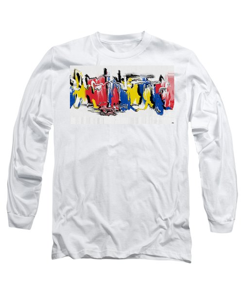 The Dance Long Sleeve T-Shirt by Roz Abellera Art