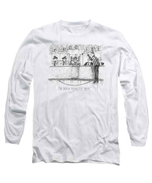 The Death Penalty Box Long Sleeve T-Shirt