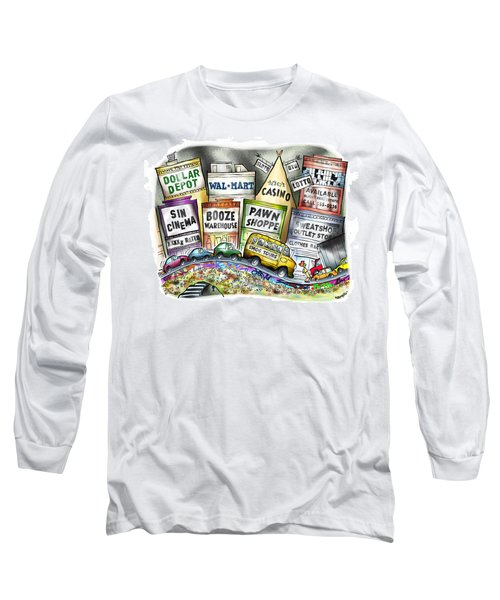 The Delights Of Modern Civilization Long Sleeve T-Shirt