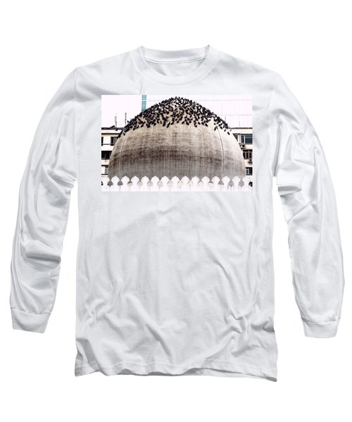 Long Sleeve T-Shirt featuring the photograph The Dome Of The Mosque by Ethna Gillespie