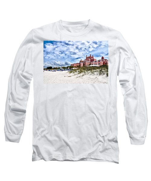 The Don Cesar Hotel Long Sleeve T-Shirt