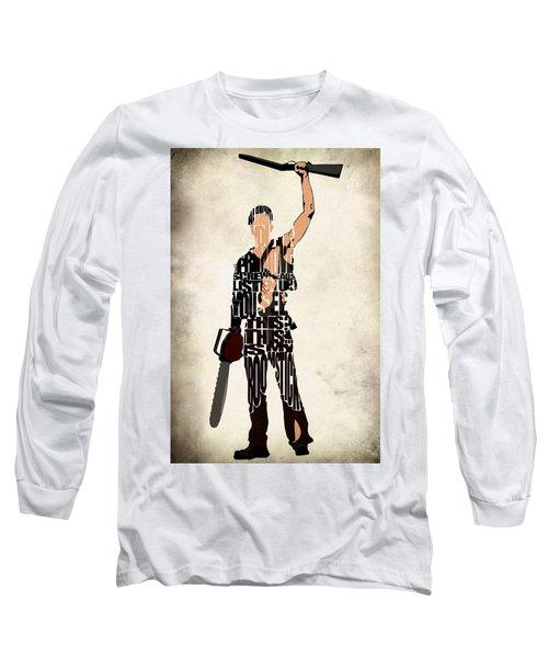 The Evil Dead - Bruce Campbell Long Sleeve T-Shirt