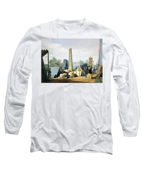The Exterior, From Dickinsons Long Sleeve T-Shirt by English School