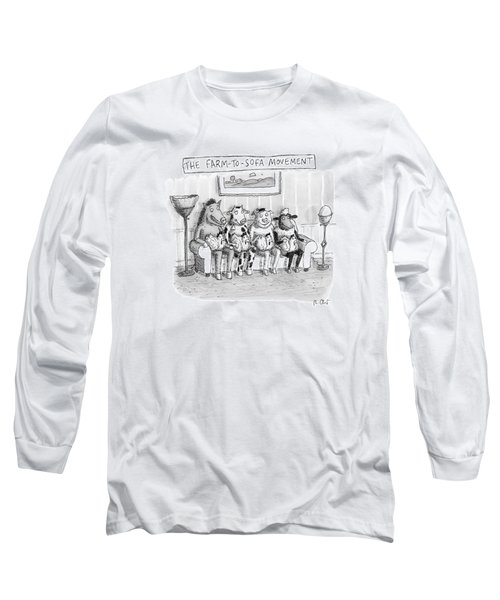 The Farm-to-sofa Movement Long Sleeve T-Shirt