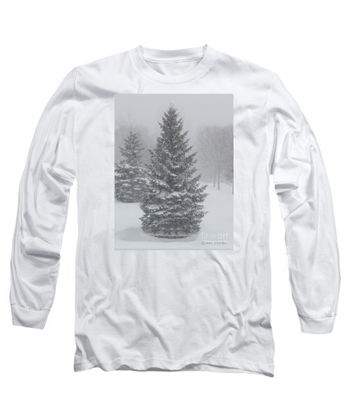 The First Snow Of Christmas Long Sleeve T-Shirt