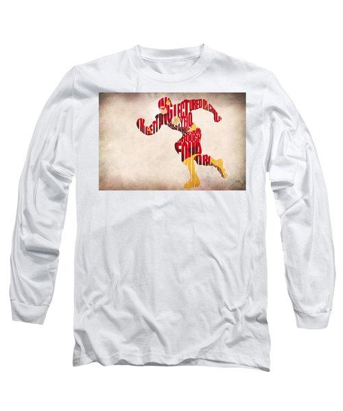 The Flash Long Sleeve T-Shirt by Ayse Deniz