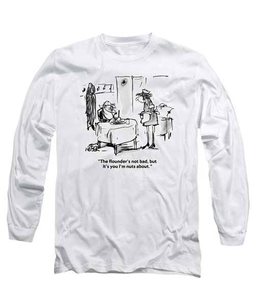 The Flounder's Not Bad Long Sleeve T-Shirt