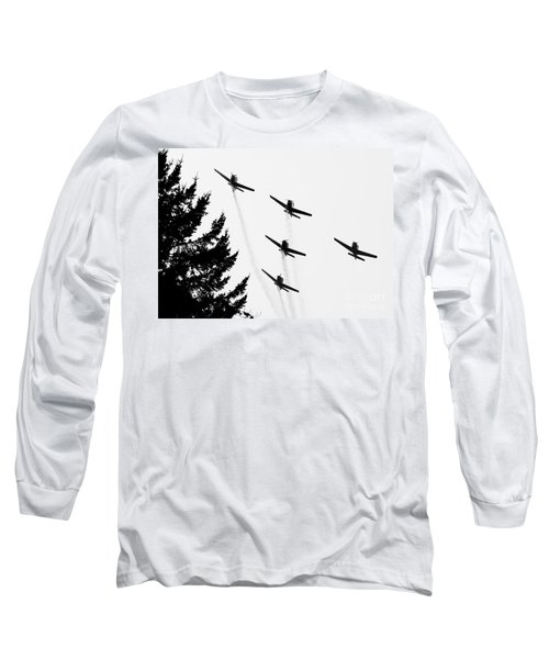 The Fly Past Long Sleeve T-Shirt by Chris Dutton