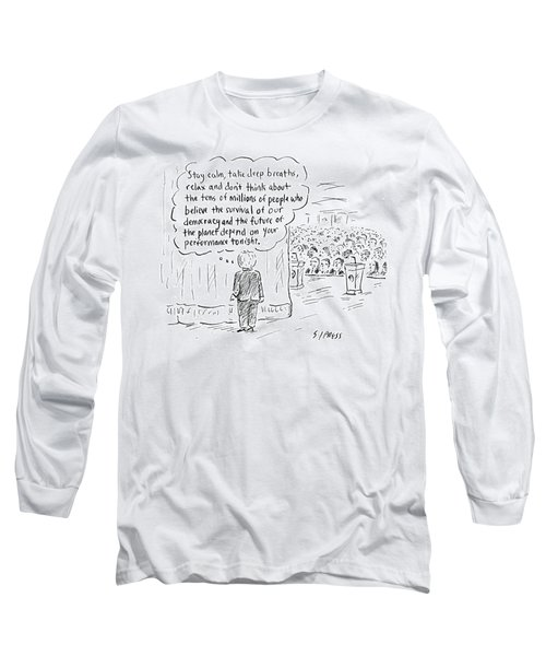 The Future Of The Planet Depend Long Sleeve T-Shirt